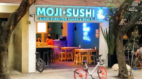 Moji Sushi, Mexico City