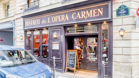 Bistrot de l'Opéra Carmen, Paris