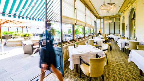 """Le Restaurant """"Les Trois Couronnes"""", Vevey"""