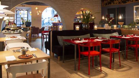 a restaurant, Barcelona
