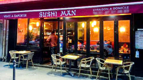 Sushi Man, Paris