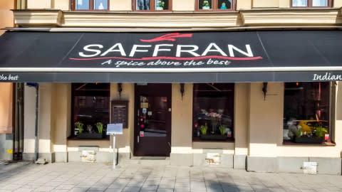 Saffran, Stockholm