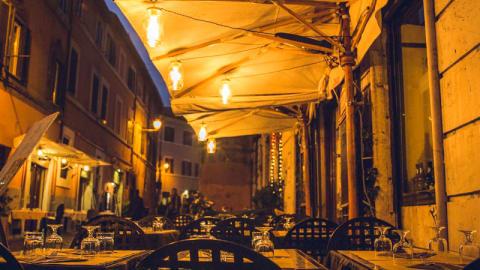 Osteria Cacio e Pepe, Rome
