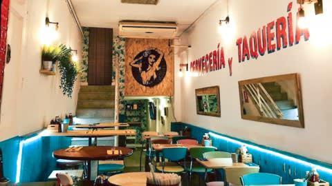 La Chula Cervecería Mexicana, Barcelona