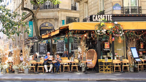 Café Cassette, Paris