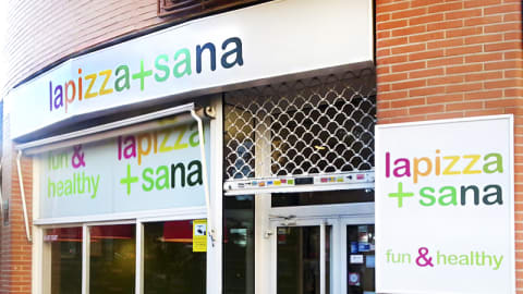 Lapizza+sana, Madrid