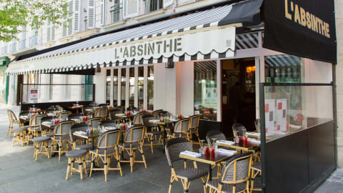 L'Absinthe, Paris