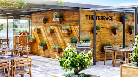 The Terrace - Fairmont Rey Juan Carlos I, Barcelona