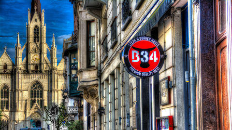 B34 Steak and Burger House, Ixelles