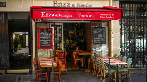 Enza & Famiglia, Paris