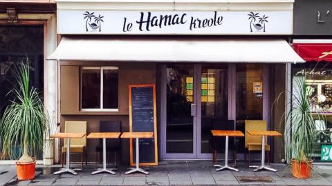 Le Hamac Kreole, Nice