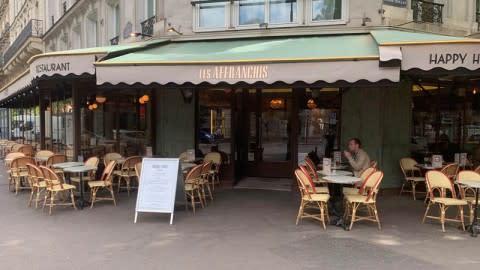 Les Affranchis, Paris