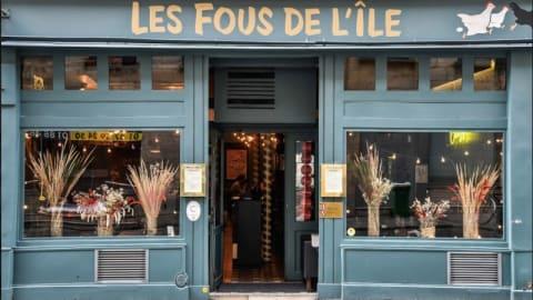 Les Fous de l'Ile, Paris