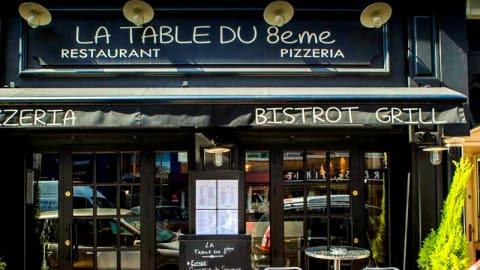 La Table du 8ème, Marseille