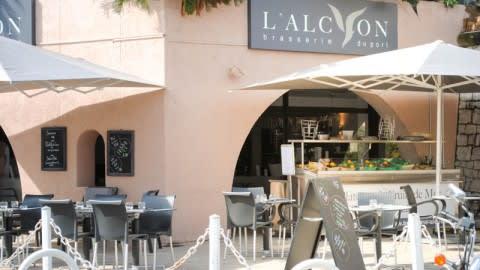 Brasserie l'Alcyon, Antibes