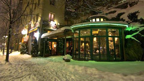 Greken på hörnet, Stockholm