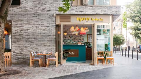Mamie Bidoche, Paris