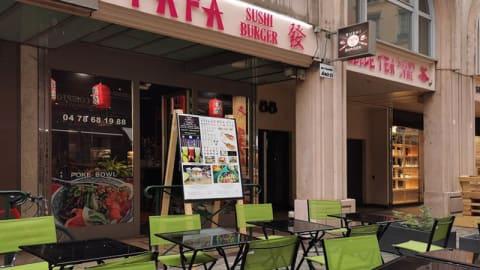 Fafa Sushi Burger, Lyon