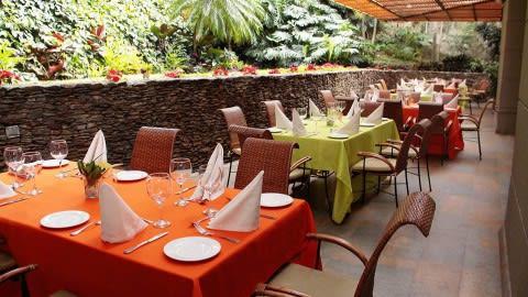 Café Alejandría (Hotel Poblado Alejandría), Medellín
