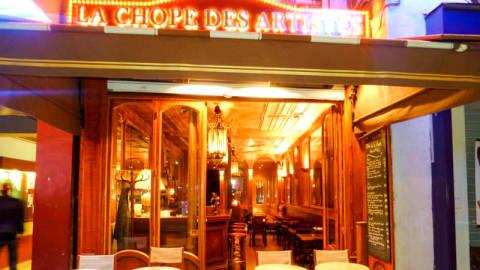 La Chope des Artistes, Paris