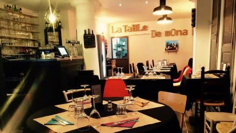 La table de mona, Bordeaux