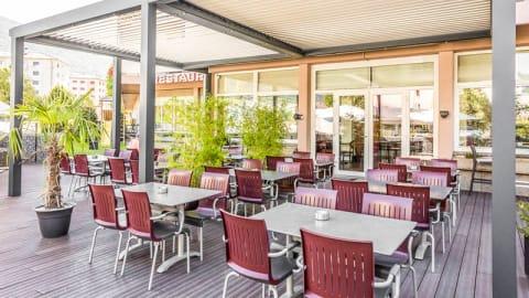 Restaurant Roches Brunes - Hotel Castel, Sion