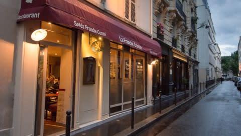 La Franche Croquée, Paris