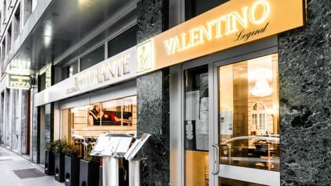 Valentino Legend, Milan