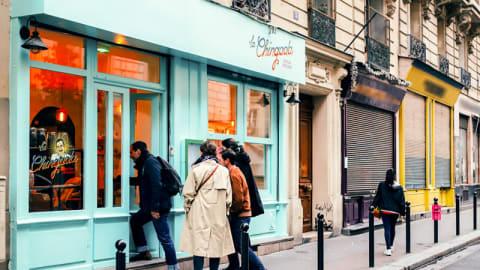 La Chingada, Paris