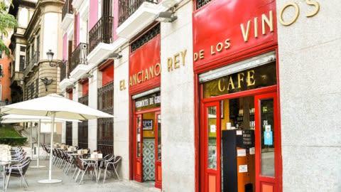 El Anciano Rey de los Vinos, Madrid