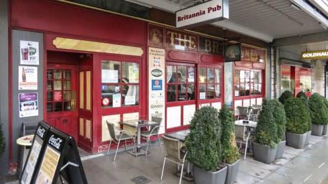 Britannia Pub, Genève