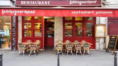 Latinogourmand La Fayette, Paris