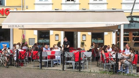 Restaurang Mosaik, Malmö