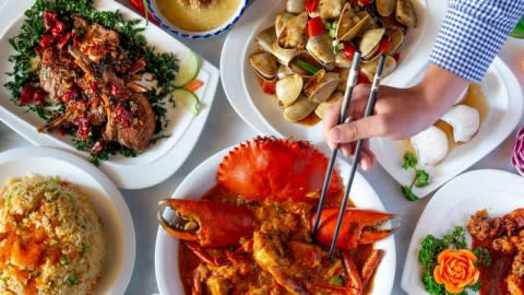 Fortune King Seafood Restaurant, Beverly Hills