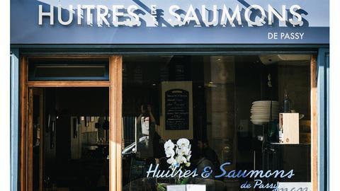 Huîtres et Saumons de Passy, Paris