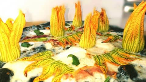 La pizza bio di Roby, Bergamo