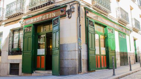 Rasputín, Madrid