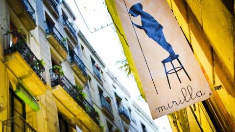 Mirilla, Barcelona