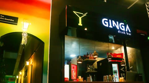 Ginga Drink Bar, Salvador