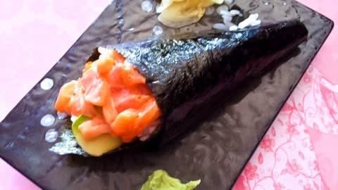 Ebi sushi, Turin