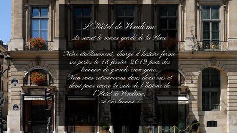 1 Place Vendôme - Hôtel de Vendôme, Paris