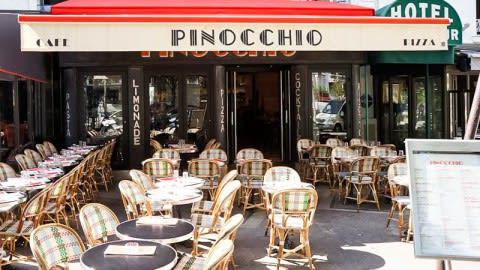 Pinocchio, Paris
