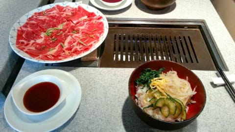 Korean Barbecue, Paris