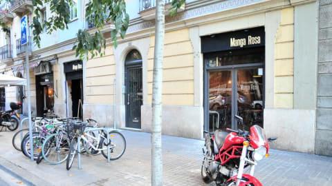 Manga Rosa, Barcelona