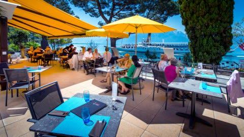 Restaurant Terrasse Safran - Eurotel Montreux, Montreux