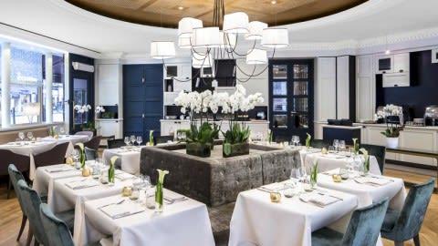 Cuisine l'E7 - Hôtel Edouard 7, Paris