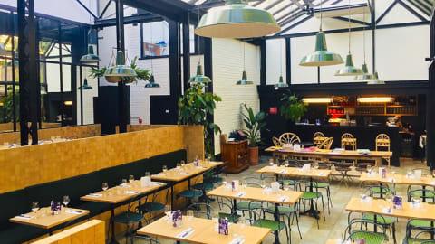 Jardin Secret, restaurant de l´Entrepôt, Paris