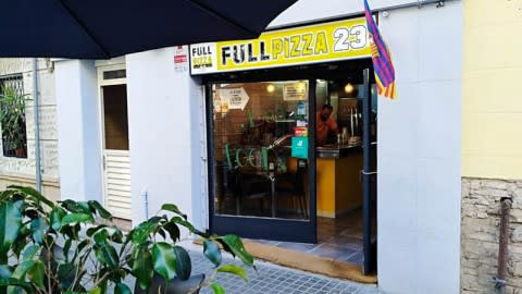 Full pizza 23, Barcelona