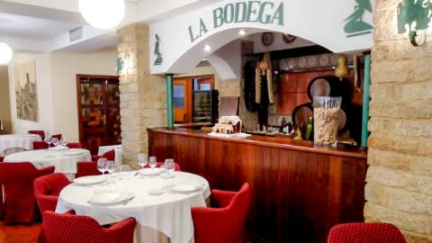 La Bodega (Hotel Las Cigüeñas), Trujillo