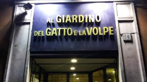 Al Giardino del Gatto e la Volpe, Rome